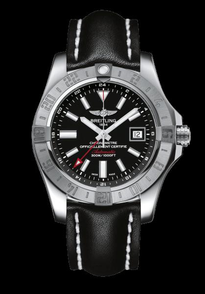AVENGER II GMT STAHL - VOLCANO-SCHWARZ