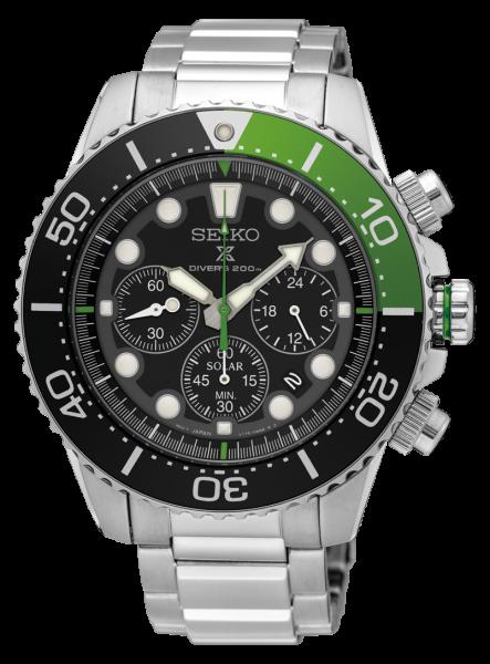 Prospex SEA Solar Chronograph Diver's
