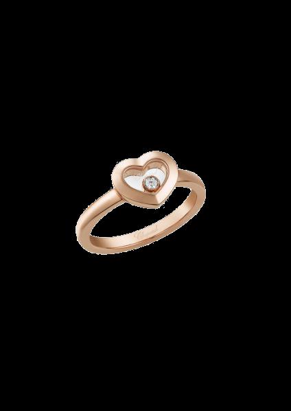 """Happy Diamonds"" 750er-Roségold Ring"