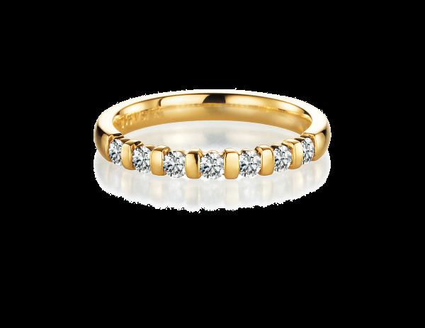 Gelbgold, Memoire-Ring