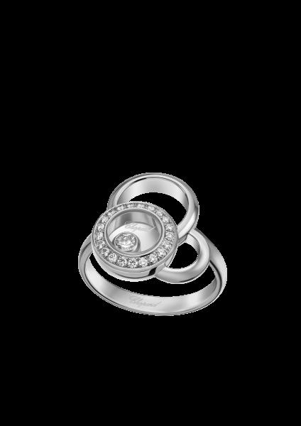 """""""Happy Dreams"""" 750er-Weißgold Ring mit Diamanten"""