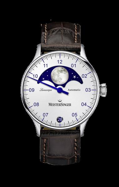 Lunascope Opalin-Silber