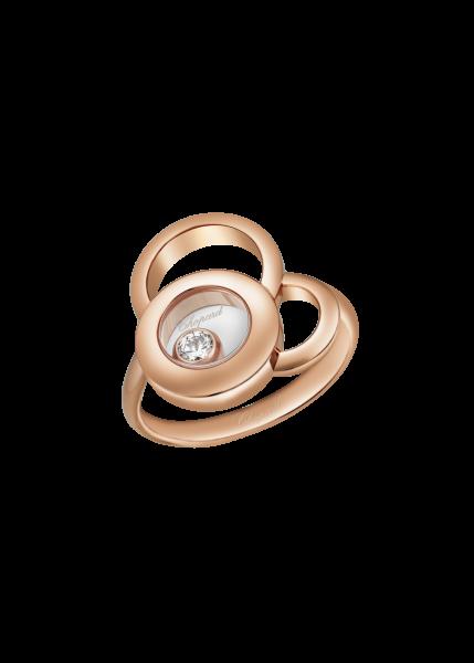 """""""Happy Dreams"""" 750er-Roségold Ring mit Diamant"""